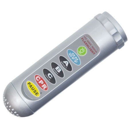 Reizen Talking Save a Life CPR Audio Rescue Flashlight ()