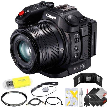 Canon XC15 4K Professional Camcorder Base Kit (Best Semi Professional Camcorder)