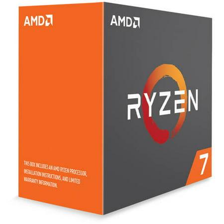 AMD Ryzen 7 1800x Processor, 3.6GHz, 8 Cores/16 Threads, (Amd Ryzen 7 1800x Best Motherboard)