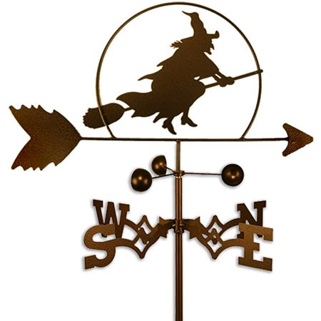 SWEN Products Inc Handmade Halloween Witch Weathervane (Halloween Weathervane)