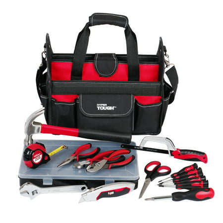 Hyper Tough Tool Set, 22 pieces with Bag