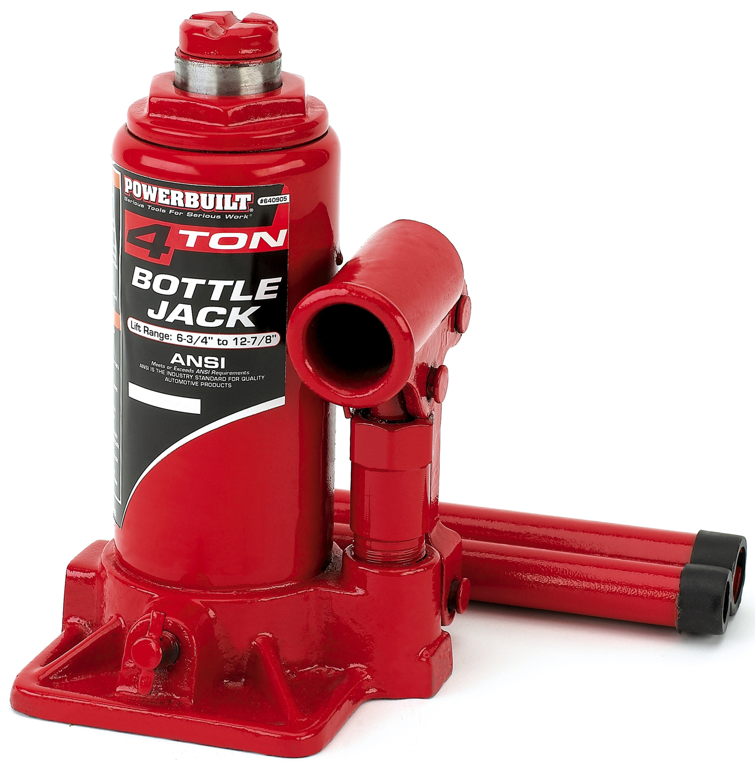 Powerbuilt 4 Ton Bottle Jack 640905