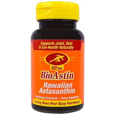 Nutrex Hawaii, BioAstin, 12 mg, 50 Gel Caps(pack of 1)