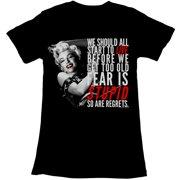 American Classics Marilyn Monroe Regret T Shirt
