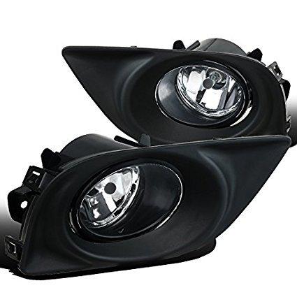 Fir Nissan Versa Clear Bumper Fog Lights Driving (Fir Bulb)