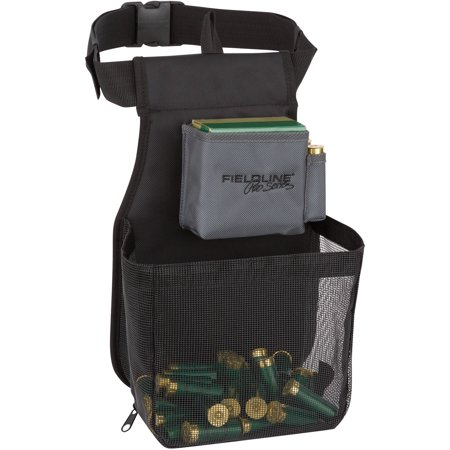 Fieldline Pro Series Large Trap Shell Pouch, Black/Grey, Shooting 6 Mag Pouch
