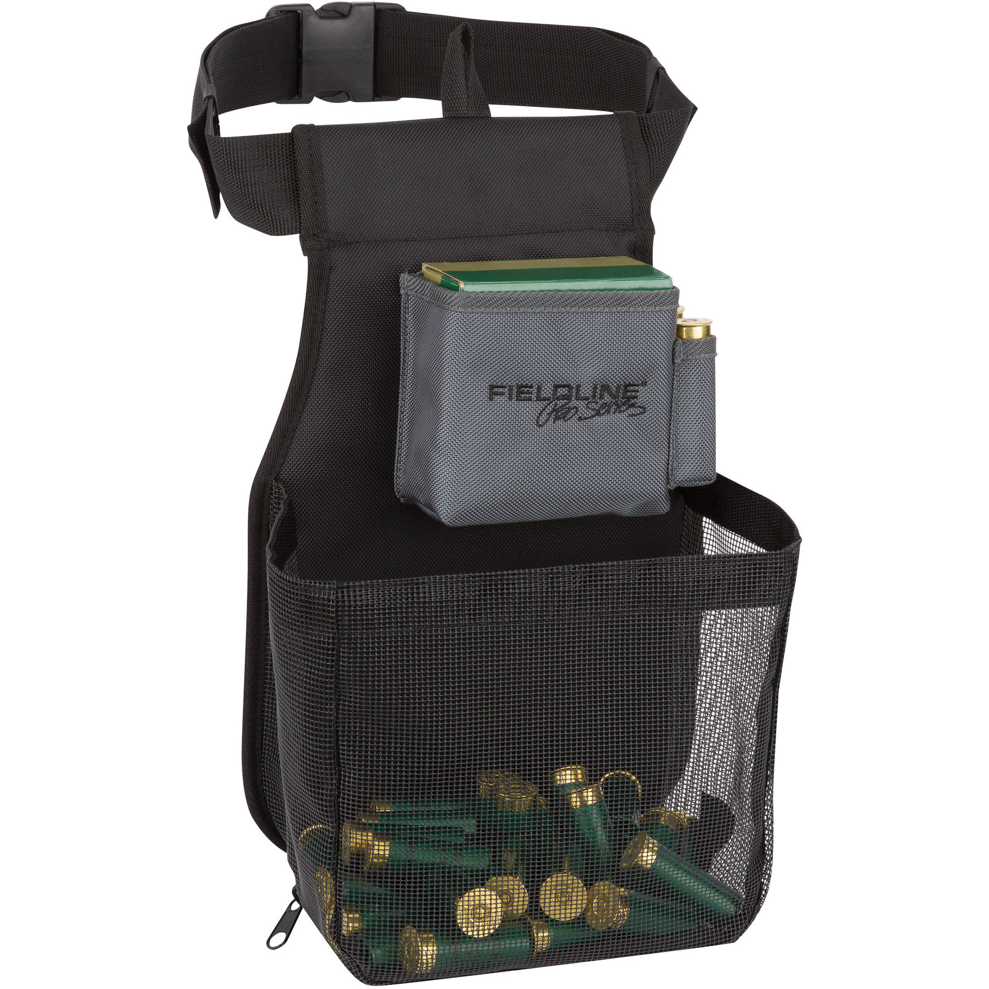 Fieldline Pro Series Large Trap Shell Pouch, Black/Grey, Shooting
