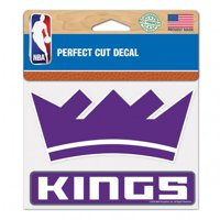 Sacramento Kings WinCraft 4'' x 5'' Perfect Cut Decal - No Size
