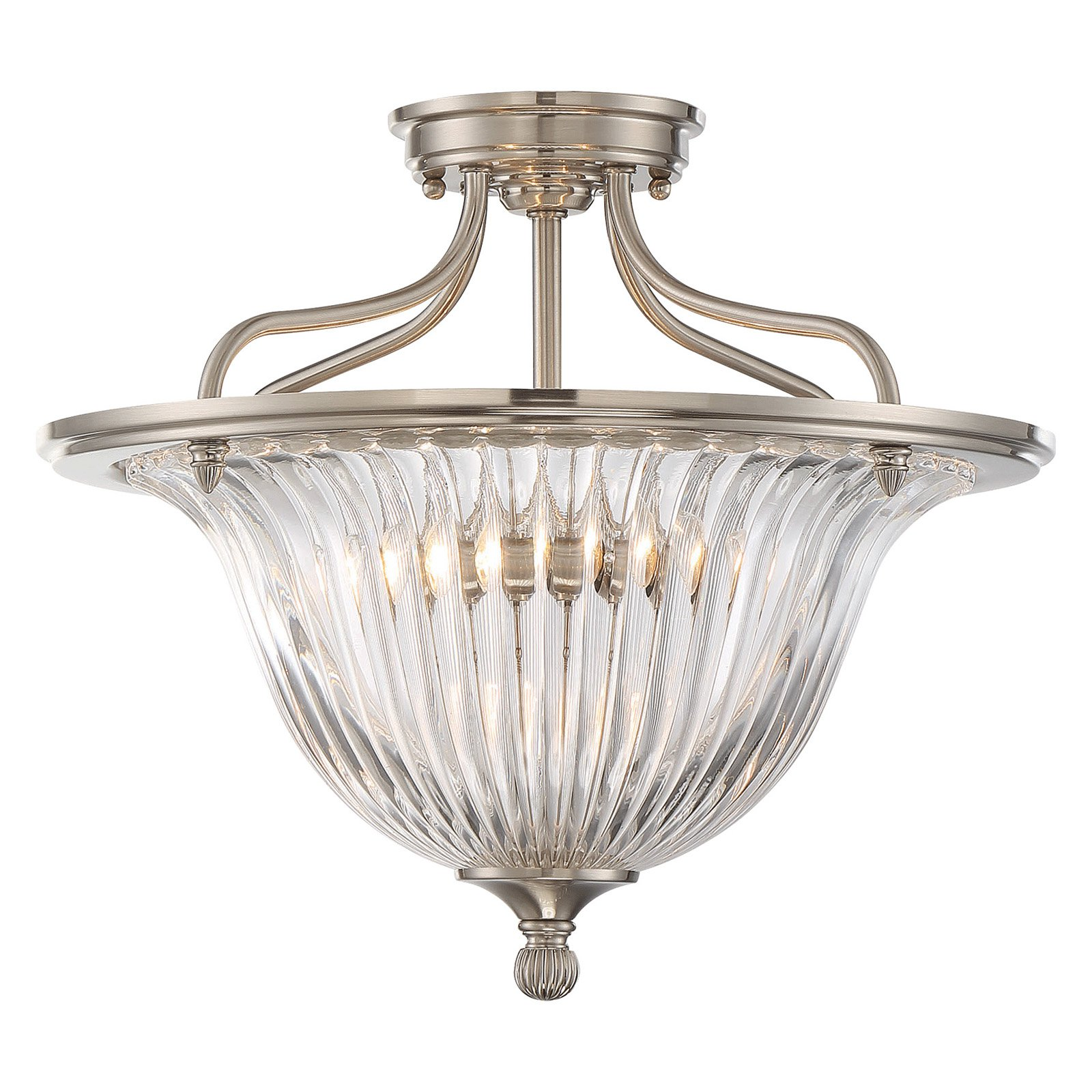 Savoy House Aberdeen 6-151-3 Convertible Semi-Flush Mount Light
