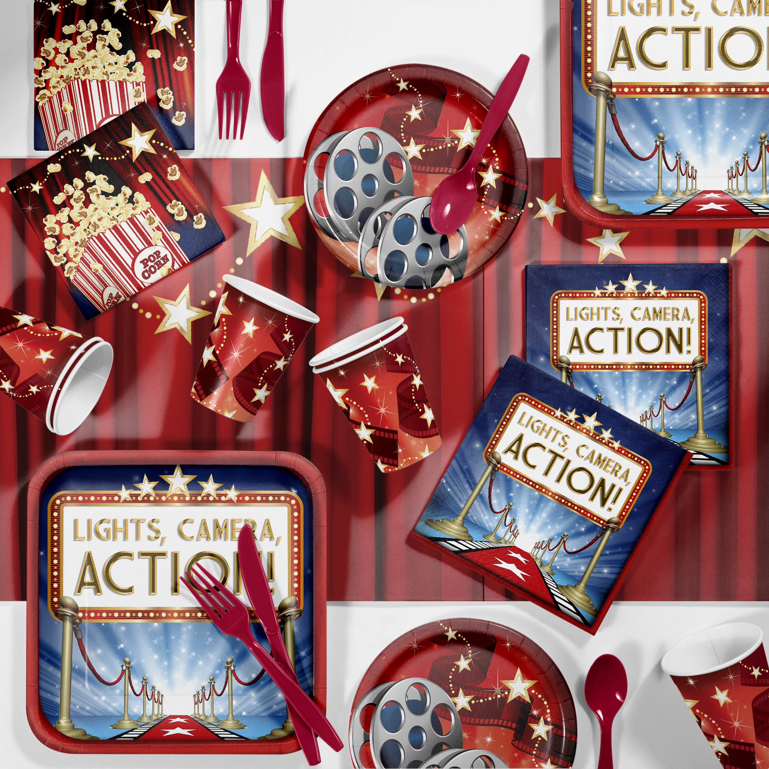 Hollywood Lights Party Supplies Kit