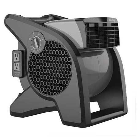 AIR KING 9555 Portable Blower Fan, 120V, 350 cfm, Gray