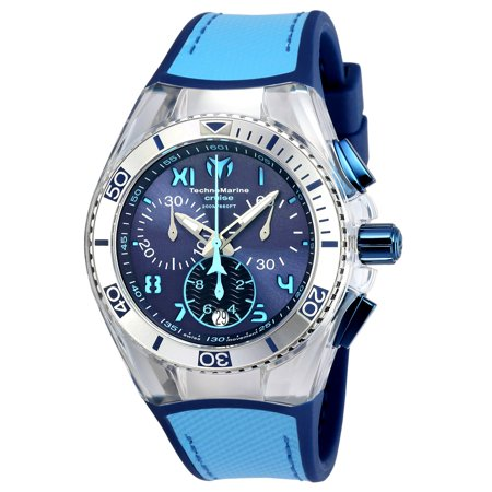 Unisex TM-115014 Cruise California Quartz Chronograph Blue, Light Blue Dial Watch