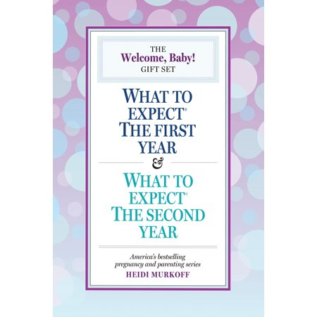 Welcome, Baby! Gift Set - Paperback The Welcome, Baby! Gift Set brings together What to Expect the First Year, 3rd Edition, and What to Expect the Second Year to cover each growth and development phase that children experience through the first two years of life.