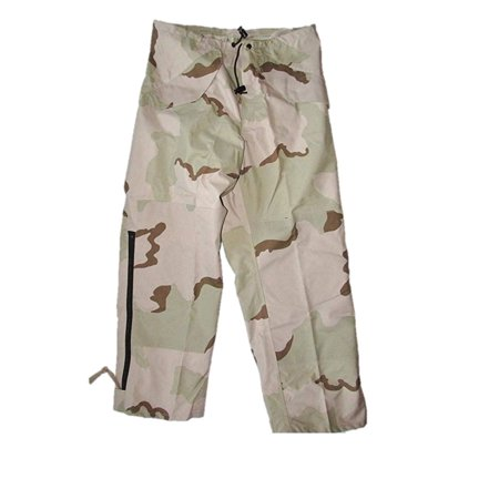 Genuine US Military Issue ECWCS Gore-tex Waterproof Pants, 3 Color Desert Camo Gore Tex Motorcycle Pants