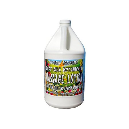 Body Silk Botanicals Massage Lotion   Our Thickest Ultra Glide Massage Lotion  128 Ounces   One Gallon
