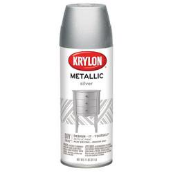 bulk buy krylon metallic spray paint 12 ounces silver