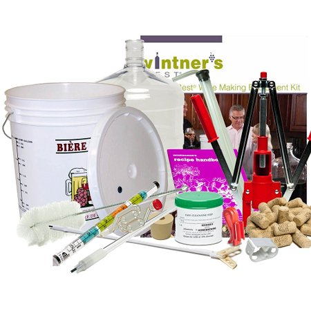 Deluxe Vintner's Best Wine Making Equipment Kit w/plastic