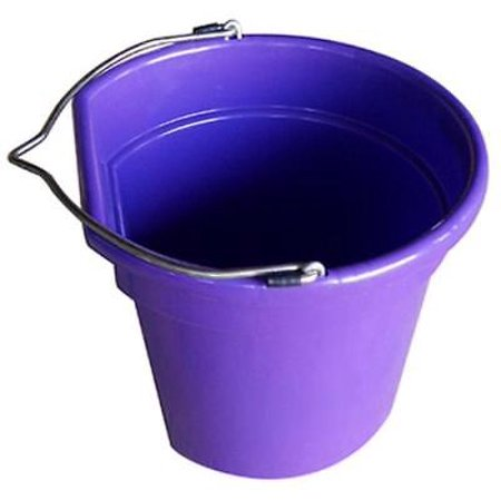 - 2PK Master Rancher 20 QT Purple Flat Sided Utility Bucket