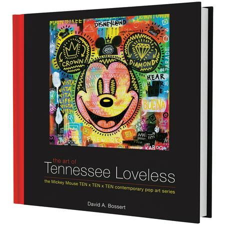 Disney The Art Of Tennessee Loveless Hardcover Book - 224 Pg - 100