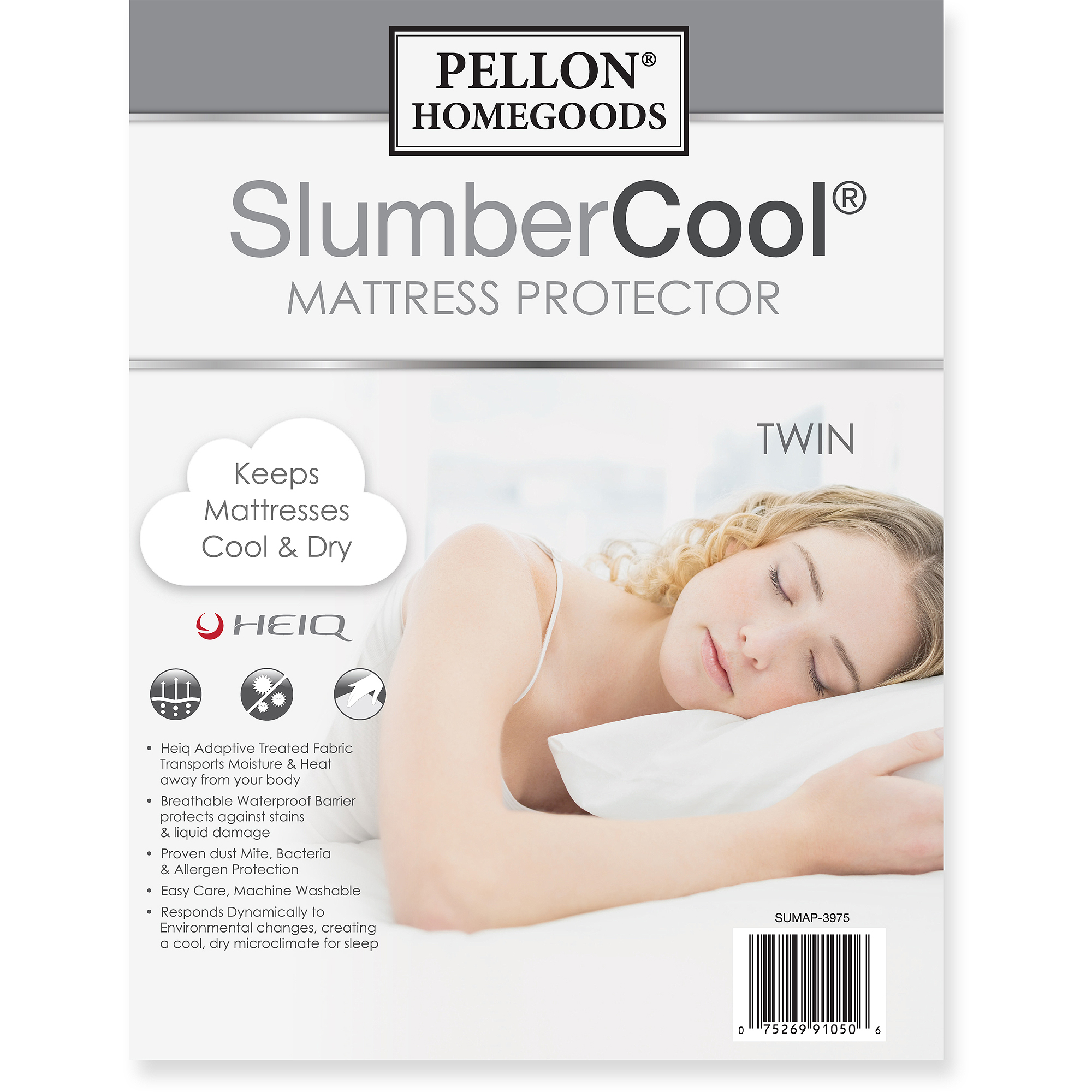 Pellon Slumber Cool Mattress Protector