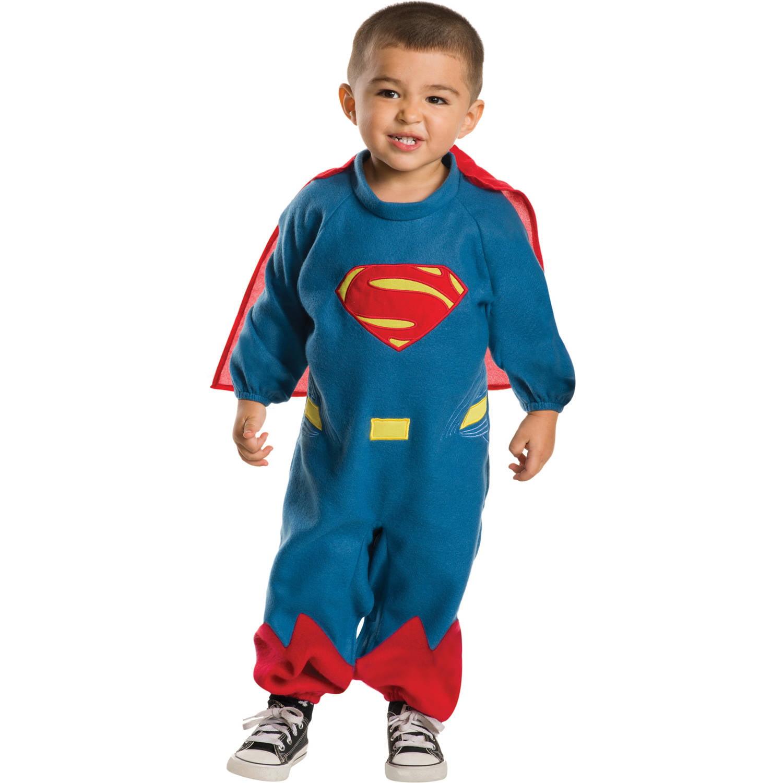 Superman Ez-On Romper Toddler Halloween Costume