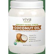 Viva Naturals Organic Extra Virgin Coconut Oil, 54 Fl Oz