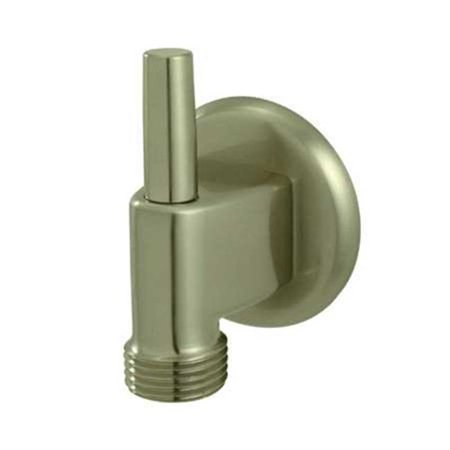 Wall Supply Elbow Satin (Wall Mount Water Supply Elbow with Pin Wall Hook  Satin Nickel )