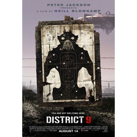 Distillery District Halloween (District 9 (2009) 11x17 Movie)