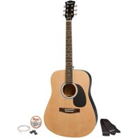 """Maestro by Gibson MA41BKCH 41"""" Full Size Acoustic Guitar Kit Deals"""