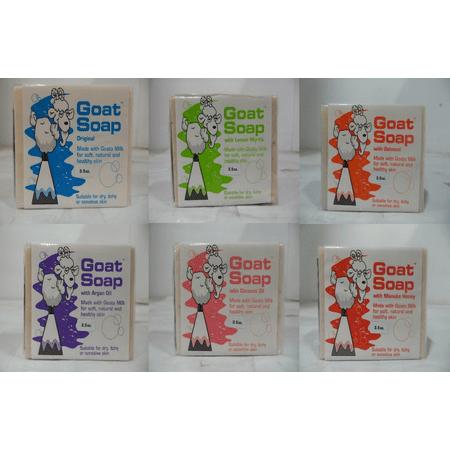 Goat Milk Soap Set 6 Pack Gift Set