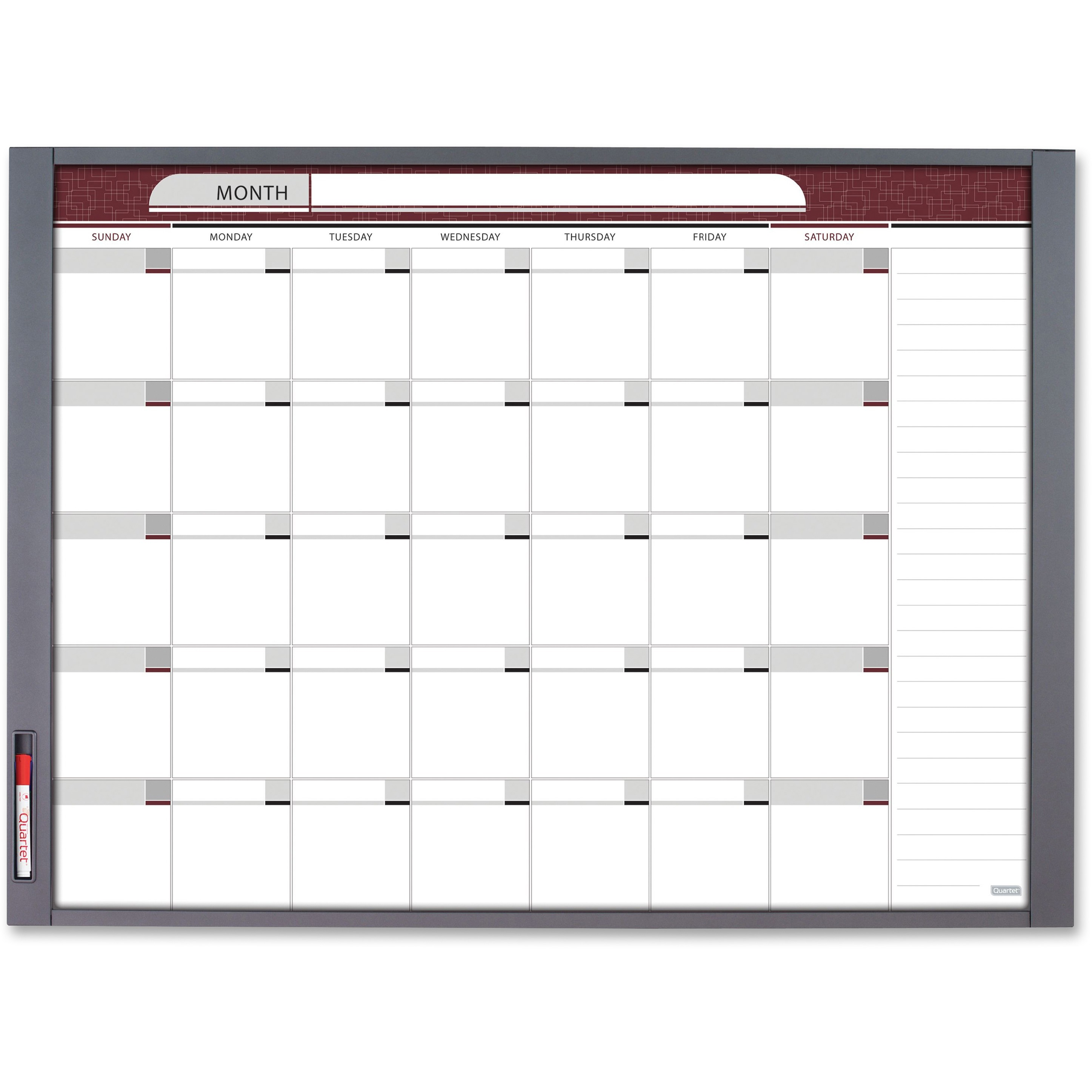 Quartet, QRT72981, InView™ Custom Whiteboard, 1 / Each