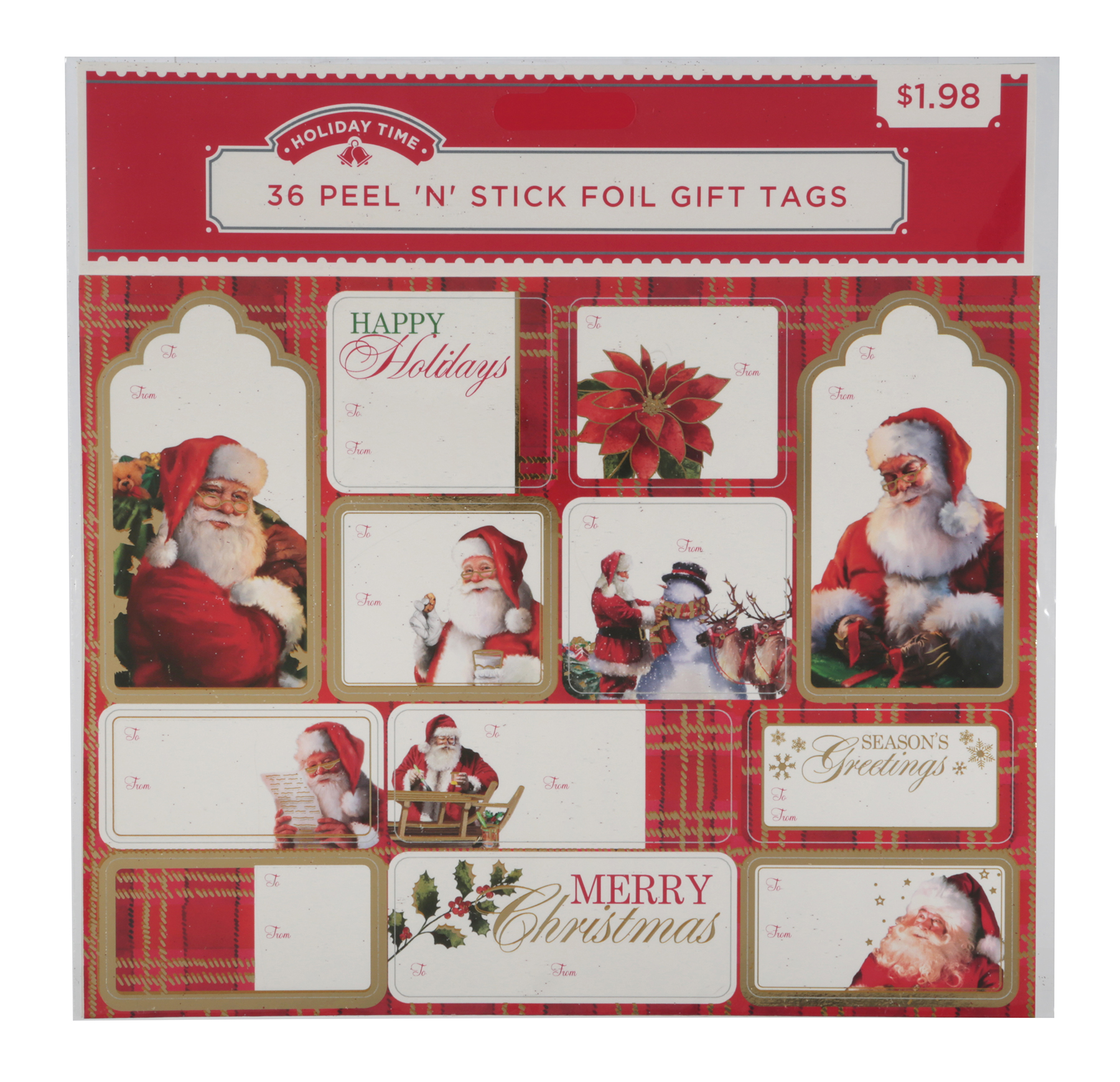 Holiday Time 36ct Pns Trd Fl Tag