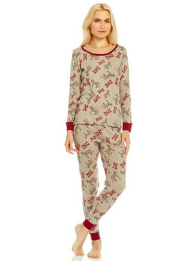 4cd7eac7fe Product Image Leveret Organic Cotton Pony Women 2 Piece Pajama Set X Small