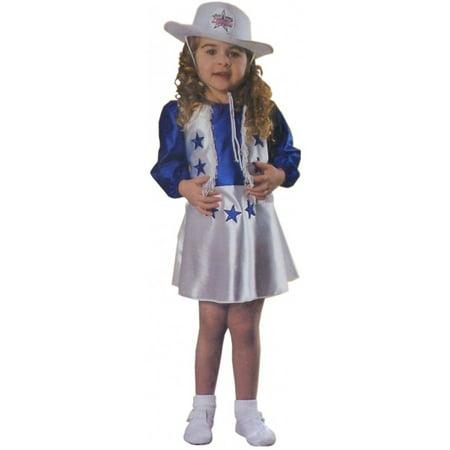 Dallas Cheerleader Toddler Girl 2T 4T - Winstons Dallas Halloween