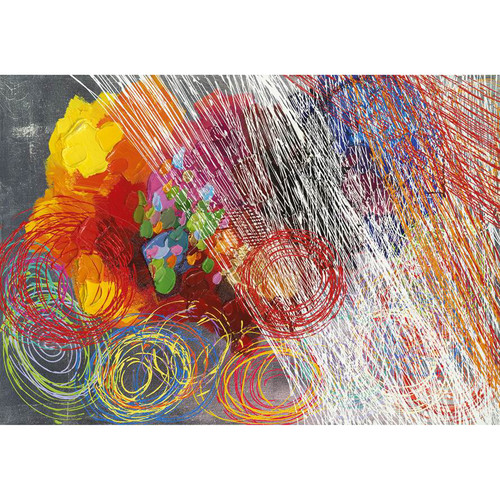 Yosemite Home Decor Revealed Artwork Cyclonic Abstraction II Original Painting on Wrapped Canvas