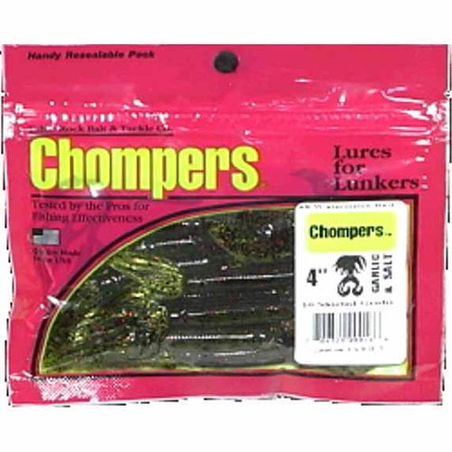 "Table Rock Bait & Tackle Chompers 4"" Double Tail"