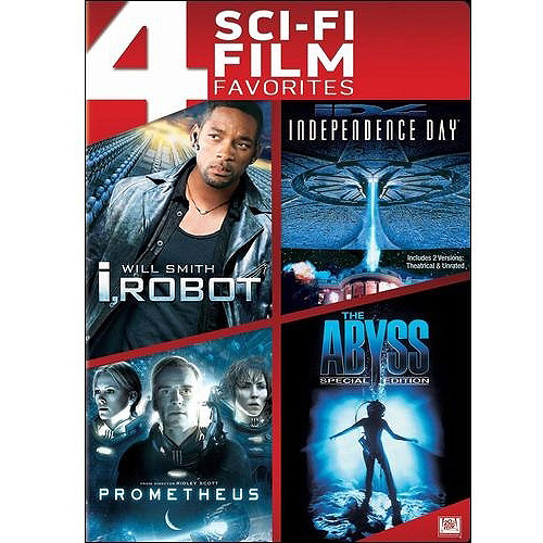 4 Sci-fi Film Favorites: I, Robot / Independence Day / Prometheus / The Abyss