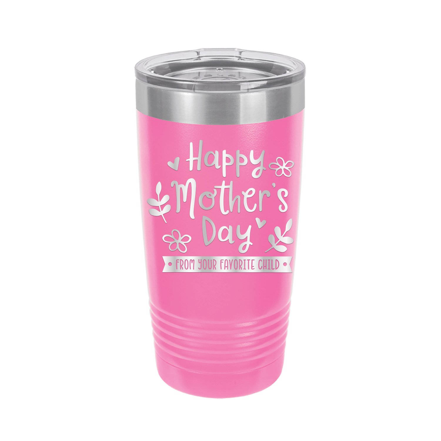 Gift For First Mom Gift For Her Personalized First Mother/'s Day 2021 Travel Coffee Mug Tumbler 20oz Available In Any Color