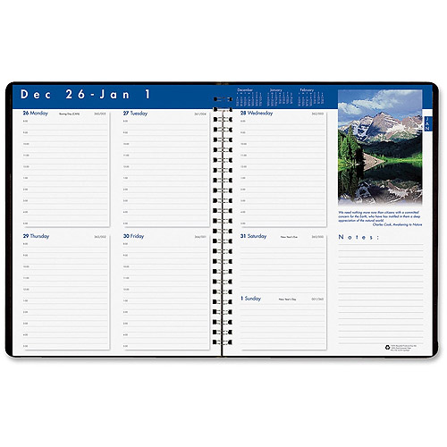 Doolittle Earthscapes Weekly Planner