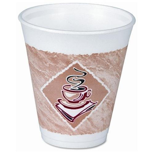 Dart Cafe G Design Cup - 16 Oz - 1000/carton - Foam - White (16X16G)