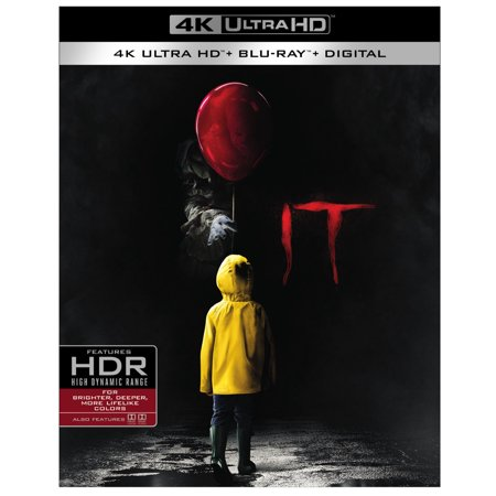 It (2017) (4K Ultra HD + Blu-ray + Digital) for $<!---->
