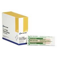 Plastic Adhesive Bandages, 3 x 3/4, 100/Box