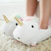 Smoko Women's Unicorn Light Up Slippers - One Size