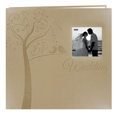 Pioneer MB-10EW 12x12 Embossed Wedding Scrapbook - Tree Creative Memories 12x12 Scrapbook