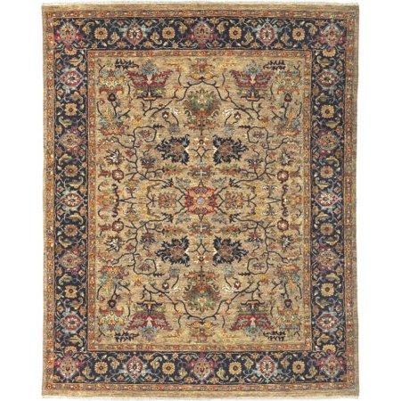Surya BUR9117-912 Bursa 9' x 12' Rectangle Wool Hand Knotted Traditional Area Ru