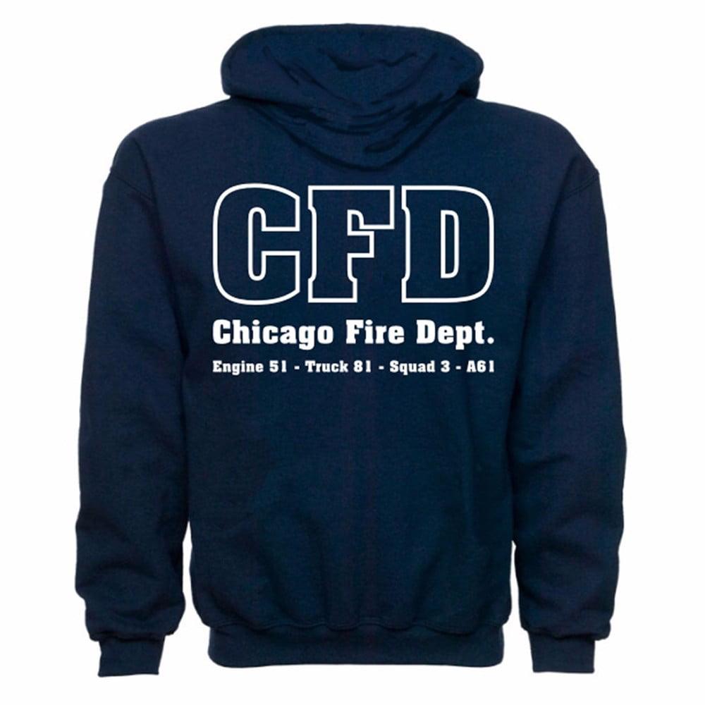 Chicago Fire Department Duty Sweatshirt - Small