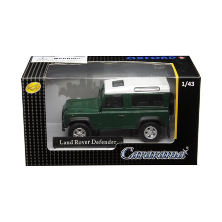 Land Rover Defender Dark Green 1/43 Diecast Model Car by - Land Rover Factory