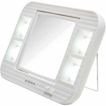 Jerdon J1015 Led Lighted Makeup Mirror With 5x
