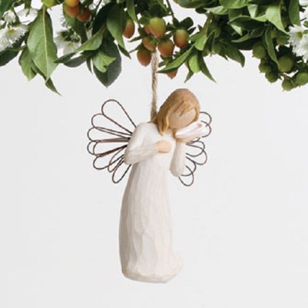 Thinking of You Willow Tree Christmas Ornament by Susan Lordi