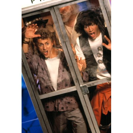 Bill And Teds Excellent Adventure Alex Winter Keanu Reeves 1989 Photo Print